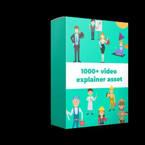 1000+ video explainer asset