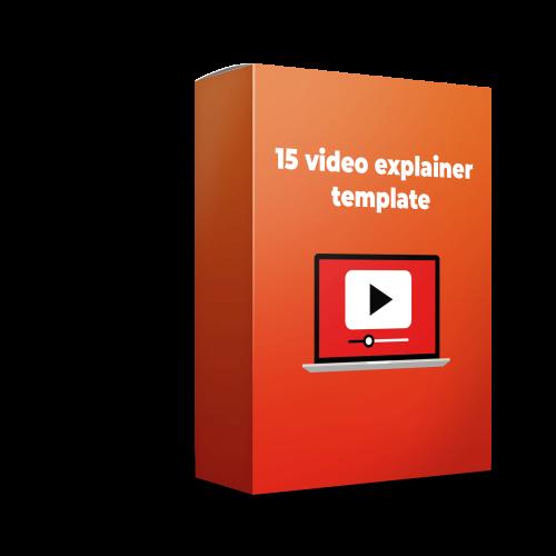 15 video explainer template